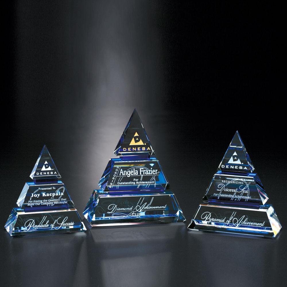 """Accolade Indigo Pyramid 6"""""""