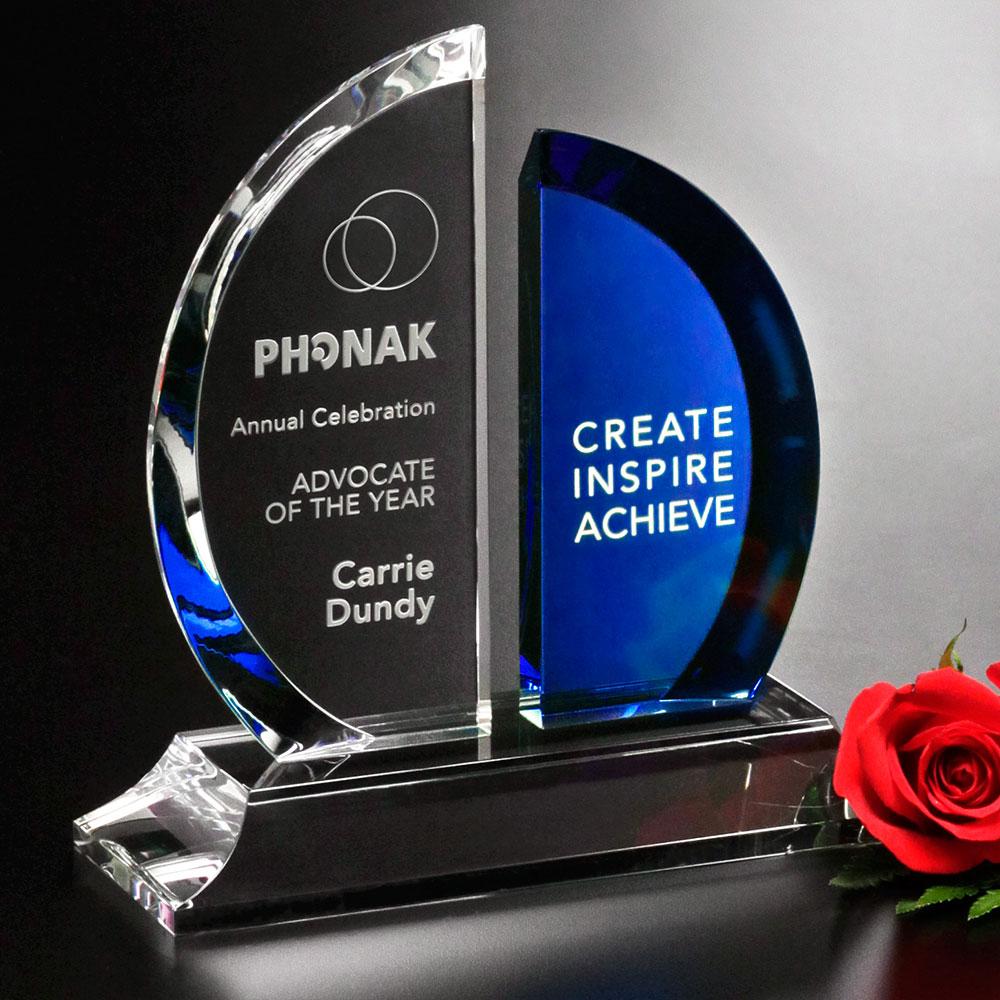 "Greenley Emerald Award 9-3/4"""