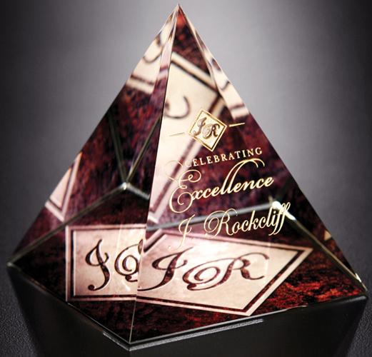 """Pyramid Award 3-3/4"""""""