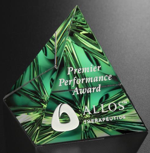 """Pyramid Award 3-1/4"""""""