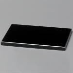 Black Glass Base 6""