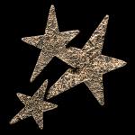 Star Cluster Bronze Accent