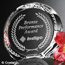 "Achiever Award 4"" Dia."