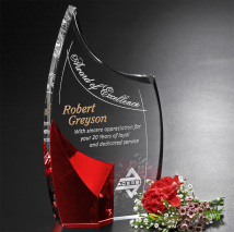 Allure Ruby Award 8-1/2""
