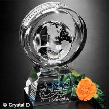 """Awards In Motion® Global Ring 8"""""""