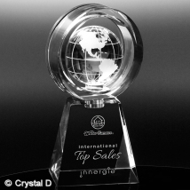 Awards In Motion® Global Ring 9-1/4""
