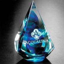 """Blue Quatro Pyramid 4"""""""