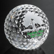 "Clipped Golf Ball 3-1/8"" Dia."