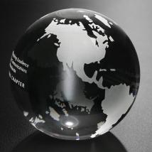 "Continental Globe 3-1/8"" Dia."