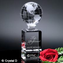 "Cordova Globe Award 9"""