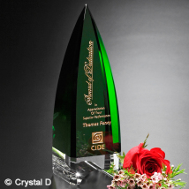 Culmination Emerald Award 10""