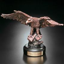 "Eagle on Rock 8-1/2"""