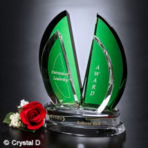 Flight Emerald Award 10""