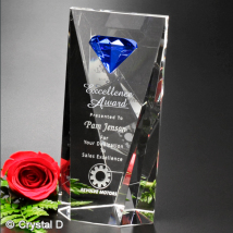 Gemstone Award 8""