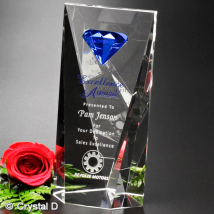 Gemstone Award 9""
