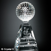 Golf Pyramid Award 10""