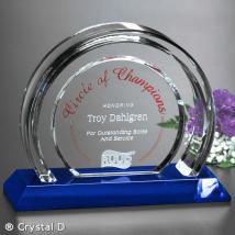 "Halo Indigo Award 6-1/2"""