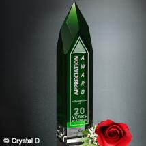 "Monolith Emerald Award 11"""