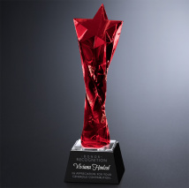 Twisted Star Ruby Award 11""