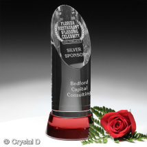 Vinton Ruby Award 8""