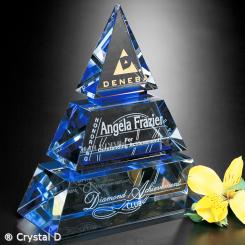 "Accolade Indigo Pyramid 6"" Image"