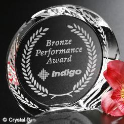 "Achiever Award 4"" Dia. Image"