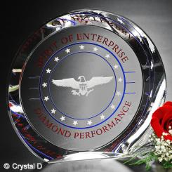 "Achiever Award 8"" Dia. Image"