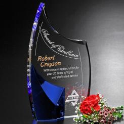 "Allure Indigo Award 8-1/2"" Image"