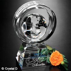 "Awards In Motion® Global Ring 8"" Image"