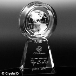 "Awards In Motion® Global Ring 9-1/4"" Image"