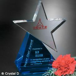 "Azure Star 9-1/2"" Image"