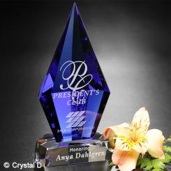 """Azurite Award 6-3/4"""" Image"""