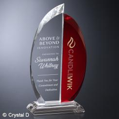 """Beacon Ruby Award 8-1/4"""""""
