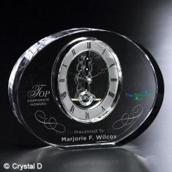 "Benton Clock 6"" H Image"