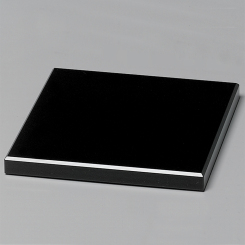 "Black Glass Base 4"" Image"