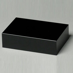Black Glass Base 5-1/2""