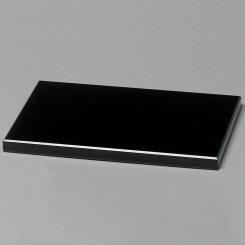 "Black Glass Base 6"" Image"
