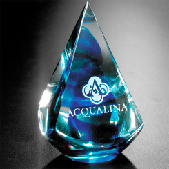 "Blue Quatro Pyramid 4"" Image"