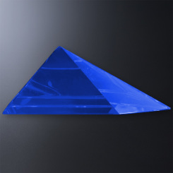 Blue Triangle Gala Accent Image