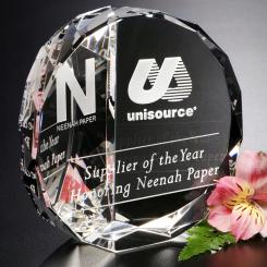"Cascata Award 3"" Dia. Image"