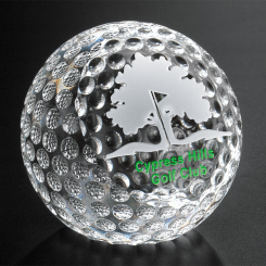 "Clipped Golf Ball 3-1/8"" Dia. Image"
