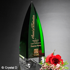 "Culmination Emerald Award 9"" Image"