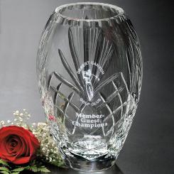 "Durham Barrel Vase 10"" Image"