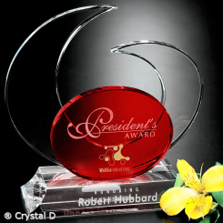 Elliptic Ruby Award 8""