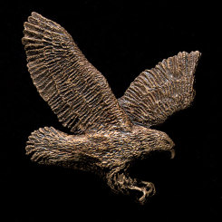 Flying Eagle Bronze Accent Image