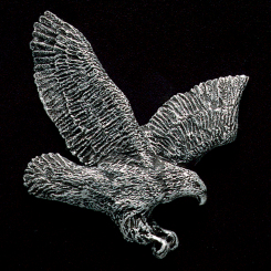 Flying Eagle Pewter Accent Image