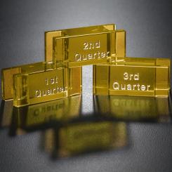 Goal-Setter Block - Gold
