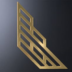Gold Accent for Crosby Octagon Image