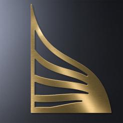 Gold Accent for Crosby Rectangle Image