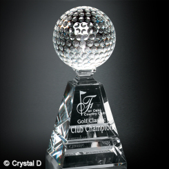"Golf Pyramid Award 6"" Image"